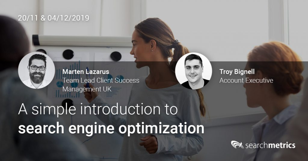 Searchmetrics Session: Social Webinar Simple Intro to SEO 2019