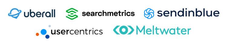Searchmetrics Events: SaasDay Organizer Logos