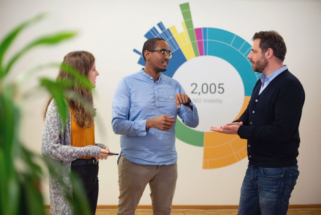 Interdisziplinärer SEO-Consulting-Ansatz der Searchmetrics Digital Strategies Group