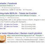 Searchmetrics Glossar: Rich Snippets - Beispiel