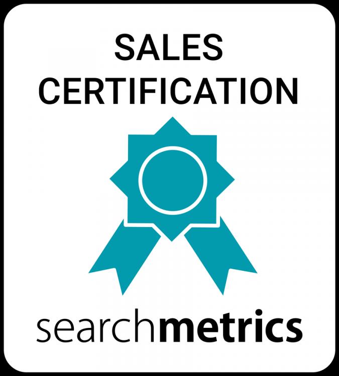 Searchmetrics Events: Sales Logo