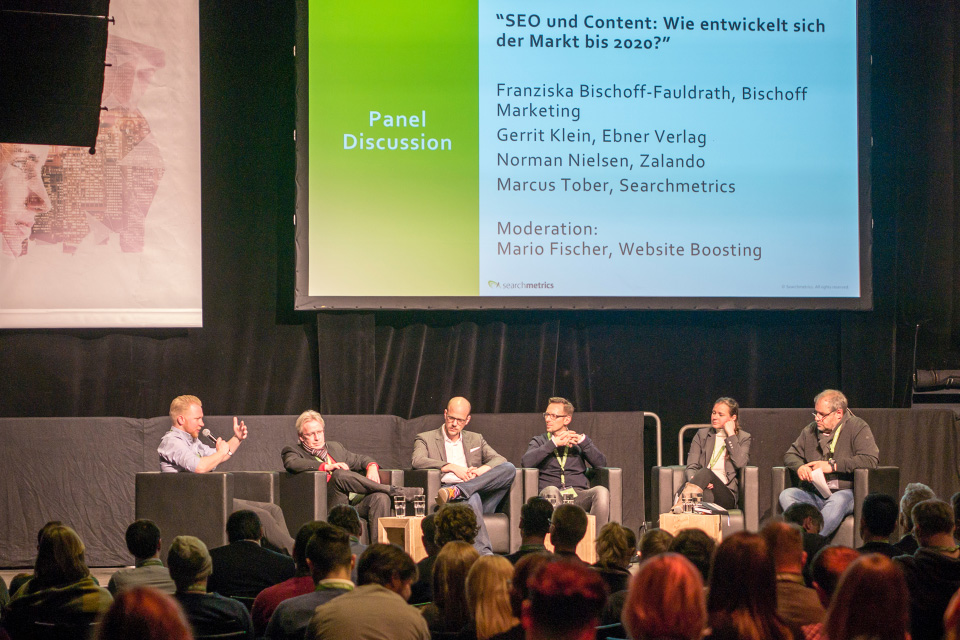 Searchmetrics Events: Summit Berlin 2017 Panel Discussion
