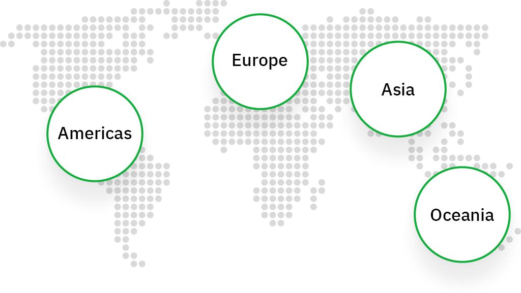 Searchmetrics Regionen Karte
