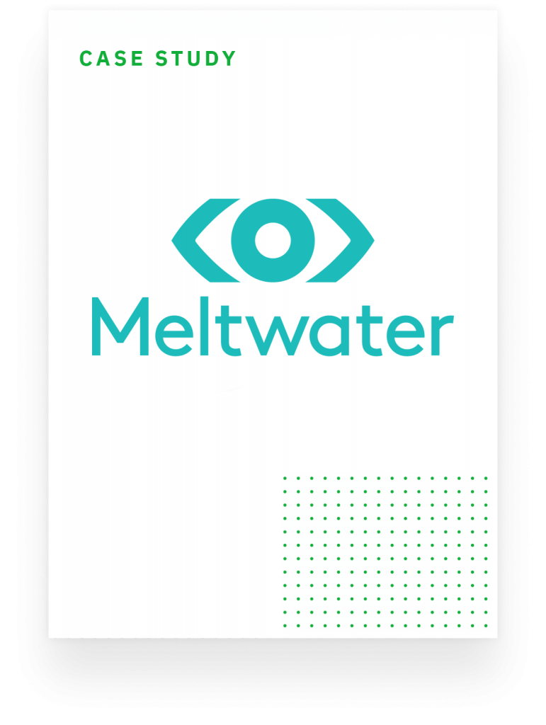 case study meltwater overview page